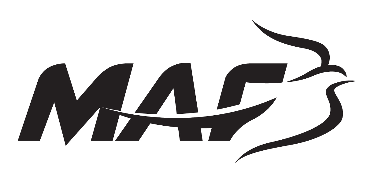 MAF Logo, black on white