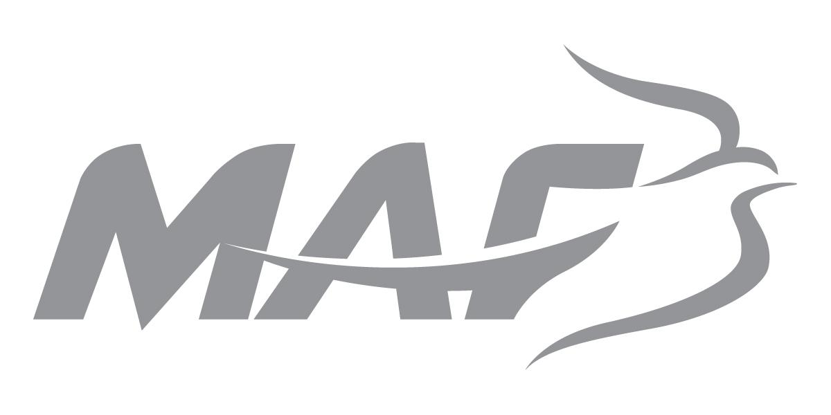MAF Logo, gray on white