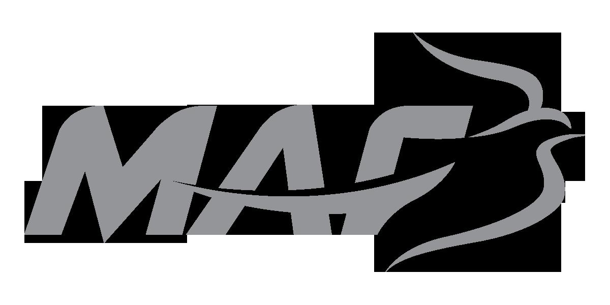 MAF Logo, Gray