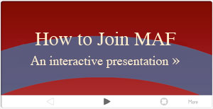 How to join MAF presentation