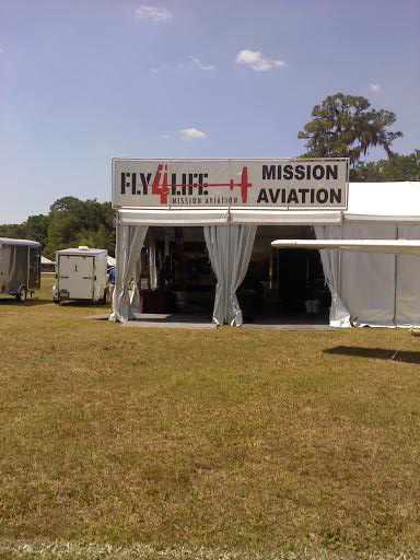 MAF is in the Fly4Life Tent at Sun 'n Fun