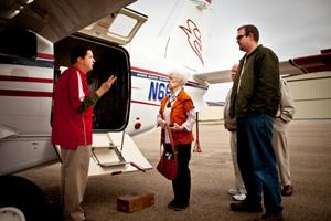 Mission Aviation Fellowship Haiti Caravan Plane Dedication ceremony