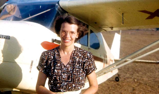 Missionary pilot, Betty Greene