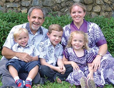 Mission Aviation Fellowship, The Bolser Family