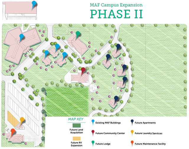 Campus Expansion, Phase 2 Artist Rendering